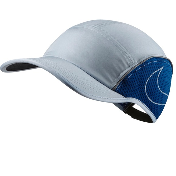 Nike Aerobill Running Hat Light Blue cd18f9039f3